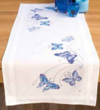 Blue Butterflies Runner Kit