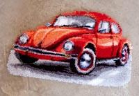 Red Beetle Rug