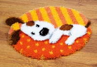 Spotted Puppy Rug
