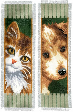 Dog & Cat Bookmark Kit