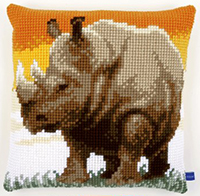 African Rhino Cushion Kit