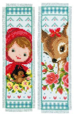 Bambi and Red Riding Hood Bookmarks Kit