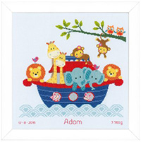 Animals in Boat Kit