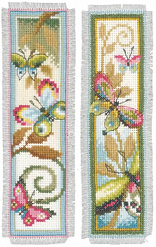 Deco Butterflies Bookmarks Kit