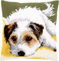 Dog Wagging Its Tail Cushion Kit