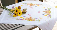 Rabbits Tablecloth Kit