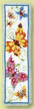 Butterflies Flapping II Bookmark Kit