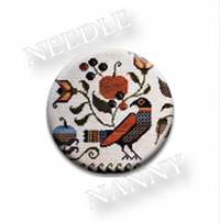 Autumn Fraktur Needle Needle Nanny by Plum Street Samplers