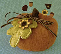 Pumpkin Spice Pincushion Kit