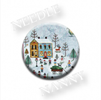 Jingle All The Way Needle Nanny by Praiseworthy Stitches