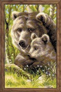 Bear with Cub Kit