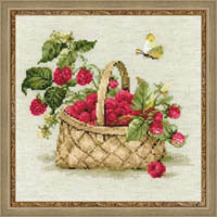 Basket of Raspberries Kit