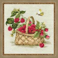 Basket of Raspberries Kit