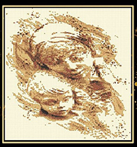 Golden Series - Mother and Child