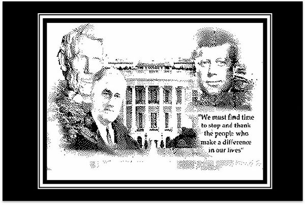 Pen & Ink - The White House