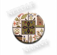 Center Point Sampler Needle Nanny by The Scarlett House