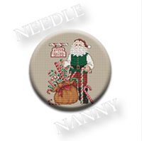 Candy Cane Santa Needle Needle Nanny by Sue Hillis Designs