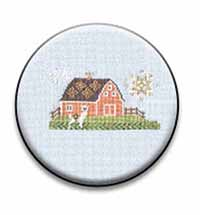 Alpaca Farm 2 Needle Nanny by The Blue Flower