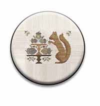 Autumn Squirrel Needle Nanny by The Blue Flower