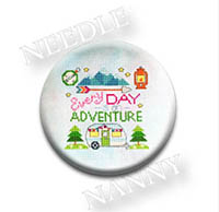 Every Day Is An Adventure Needle Nanny by Tiny Modernist