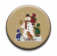 Building a Snowman Needle Nanny by Twin Peak Primitives