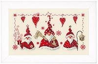 Cheerful Santas Gnomes Kit