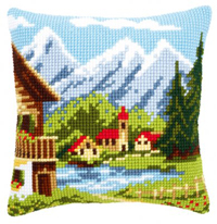 Alpine Village Pillow Kit
