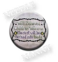 Well Behaved Children Needle Nanny by Waxing Moon Designs