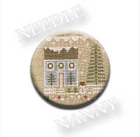 Glitter House 1 Needle Nanny by Country Cottage Needlework