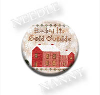 Baby it's Cold Outside Needle Nanny from Heartstring Samplery