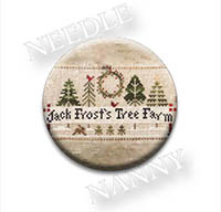 Jack Frost's Tree Farm Needle Nanny by Little House Needleworks