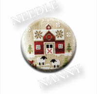 Farmhouse Christmas Needle Nanny by Little House Needlework
