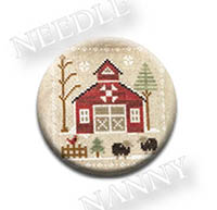Baa Baa Black Sheep Needle Nanny by Little House Needlework