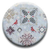 Winter Quakers Needle Nanny by Rosewood Manor