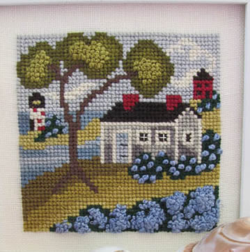 Seaside Blue from By The Bay Needleart