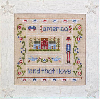 LAND THAT I LOVE BY COUNTRY COTTAGE NEEDLEWORK