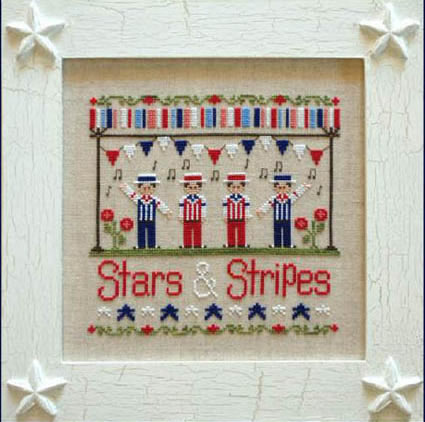 STARS & STRIPES BY COUNTRY COTTAGE NEEDLEWORK KIDS SERIES