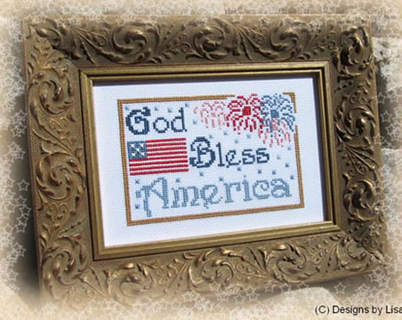 God Bless America by Designs by Lisa
