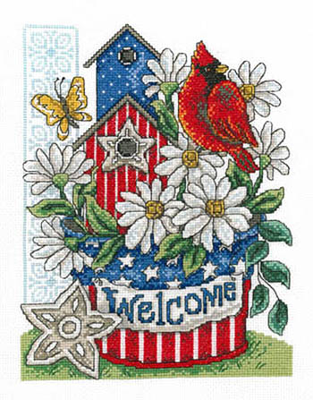 Patriotic Welcome from Imaginating