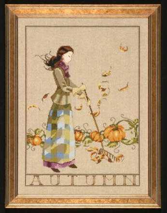 Autumn in my Garden by Mirabilia Designs