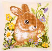 Bunny Cushion by Vervaco